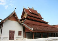Wat May in Luang Prabang