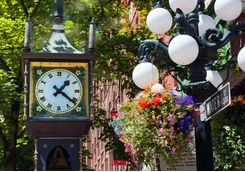Gastown Steam Clock in Vancouver
