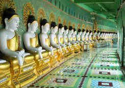 Buddha Statues Sagaing