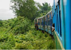 Yangon Train