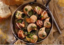 French cuisine mussels