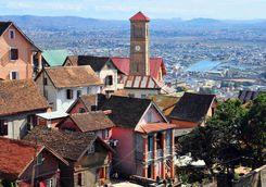 Upper town of Antananarivo