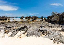 Rocky beach at Diego Suarzez