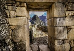 Doorway at Machu Picchu