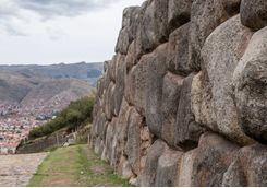 Ancient wall at Sacsayhuaman