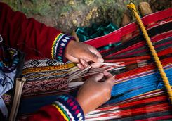 Weaving handicrafts