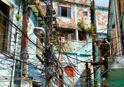 Rustic favela house