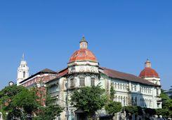 British Colonial Building in Yangon