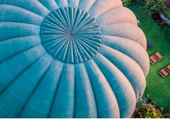 Close Up of Hot Air Ballon's