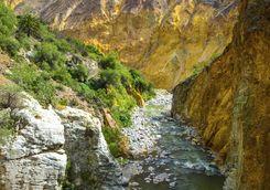 Colca Canyon river