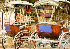 Chain Mai Rickshaws