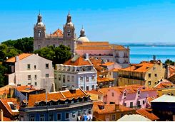View across Lisbon