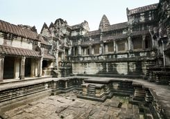 Courtyard in Angkor Wat