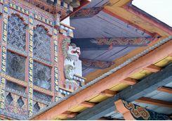 Bhutanese Monastery Detail