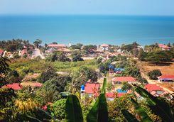 villas in Kep's jungle