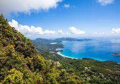 mahe island view