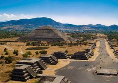 a view over teotihuacan