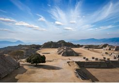 the top of monte alban site