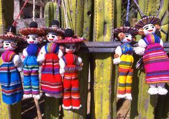 traditional mexican dolls in Milta