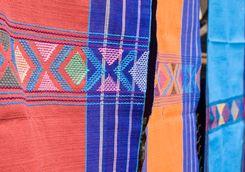 a handmade blanket