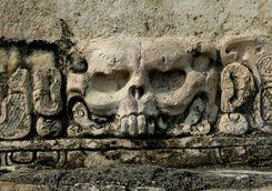 A Mayan historic artefact