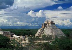 Uxmal mayan site