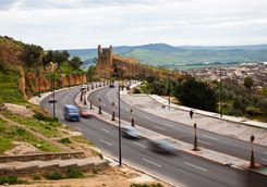Road into Fez