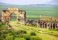 Ruins in Volubilis