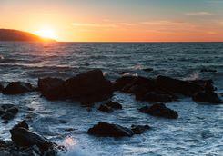 Sunset at Tangier Beach