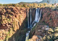 Atlas Mountain waterfall