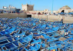 Essouira boats