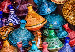 Colourful tagines