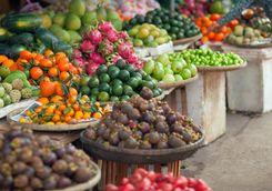 Fruit market Hoi An