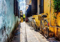 Bikes in Hoi An