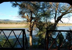 Mandrare River Camp tent deck view