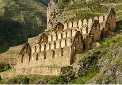 Inca Fortress at Ollantaytambo