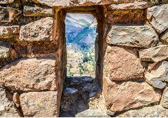 Pisac Incan ruins