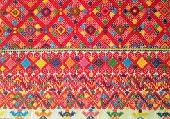 mayan fabric crafts