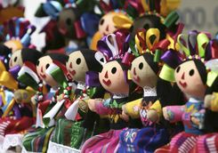 a mexican craft's toy