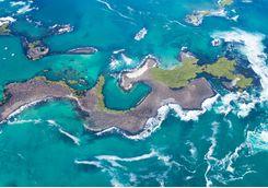 Galapagos aerial