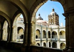 oaxaca cathedral architecture