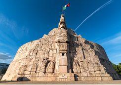 homeland monument in Merida