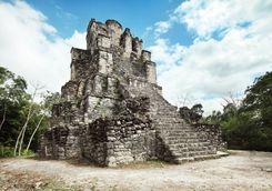 el castillo ruins