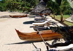 Canoes at Tsara Komba