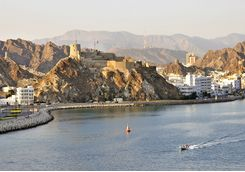 Muscat's waterfront