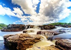 Rapids in Chapada Diamantina