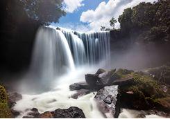 Fumaca waterfall