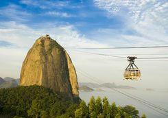 Cable car in Rio