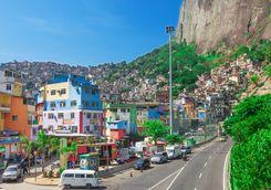 Streets in Rio de Janeiro