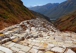 Maras salt terraces